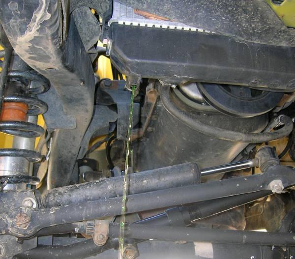 Home Coolant Flush Report - Jeep Wrangler Forum
