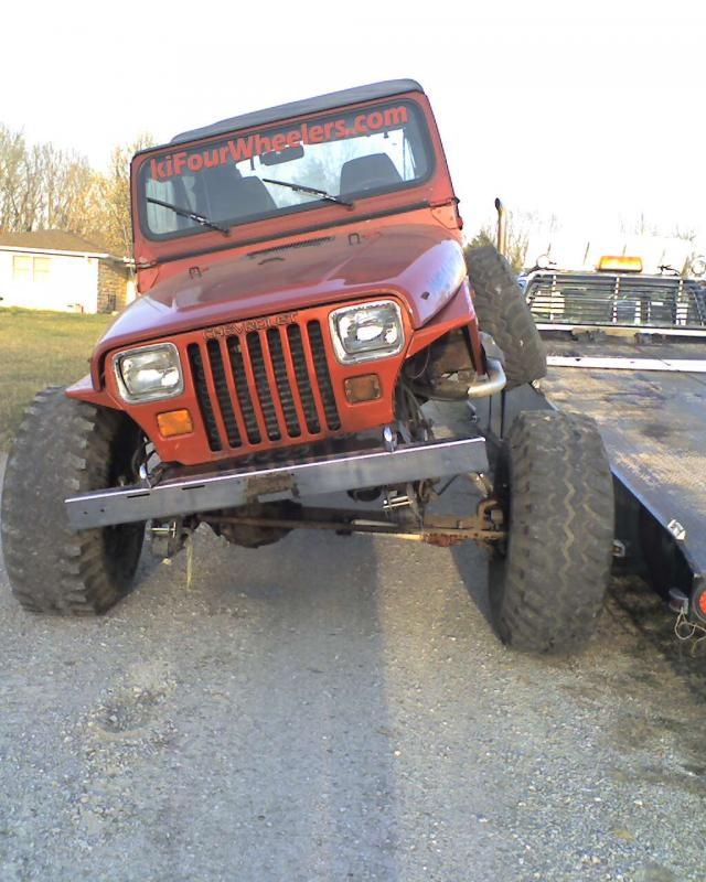 86 Blazer axle swap? - Jeep Wrangler Forum