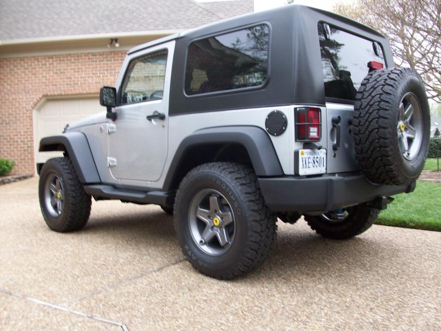 New AEV Pintlers on 33's - Jeep Wrangler Forum