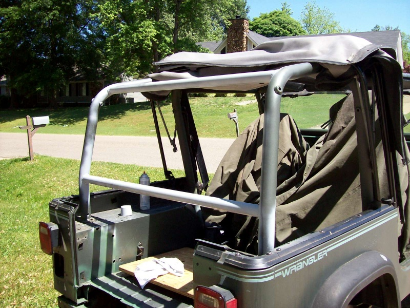Roll cage modifications jeep wrangler forum - Jeep cherokee exterior roll cage ...