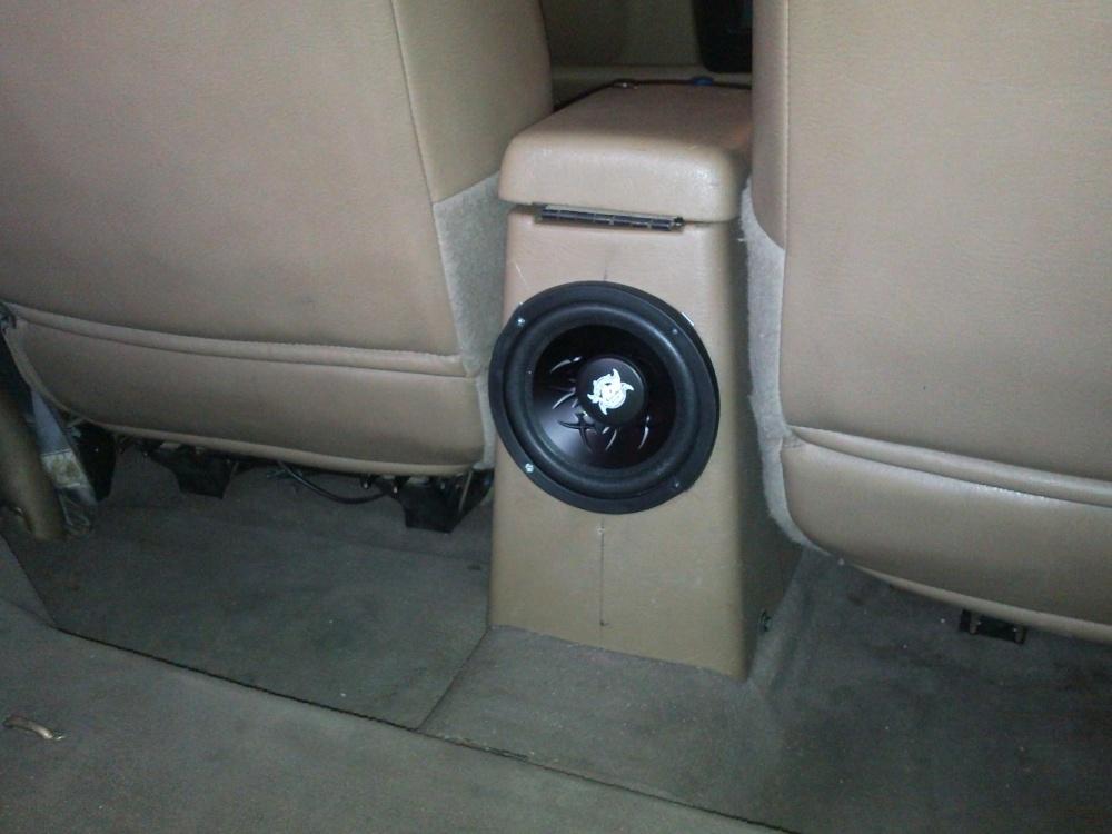 Center console subwoofer installation - Jeep Wrangler Forum