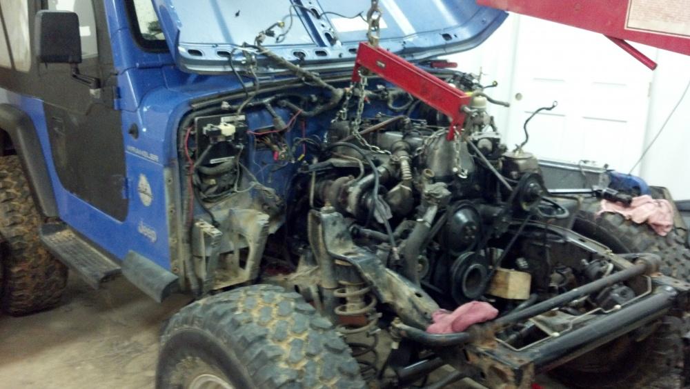 1997 Wrangler Om617 Diesel Swap Jeep Wrangler Forum