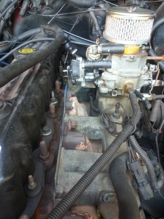 1990 4 2 carb setup questions - Jeep Wrangler Forum