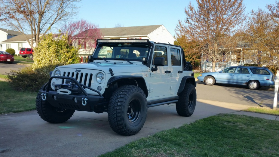 35s With Flat Fenders And No Lift Jeep Wrangler Forum