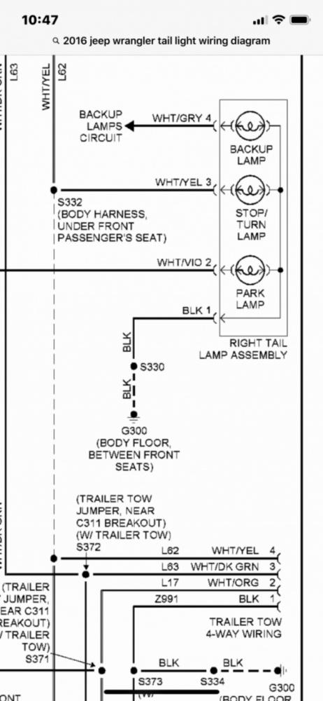 Jeep Tj Tail Light Wiring Diagram