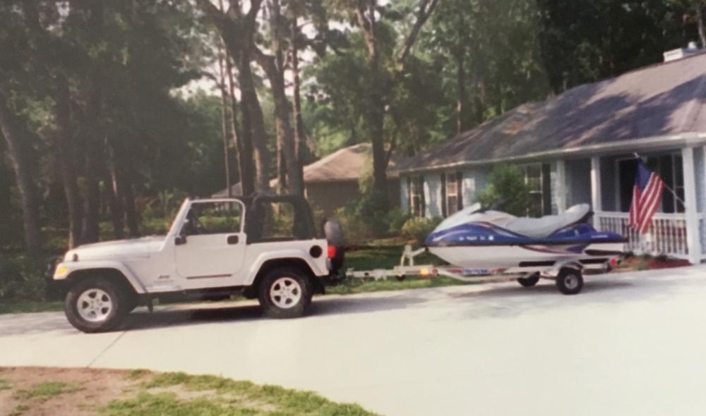 Towing a jet ski - Jeep Wrangler Forum
