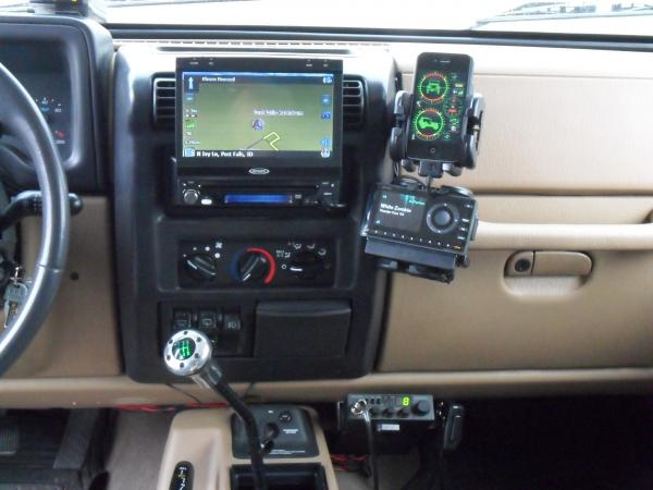 Cb Radio Mount Locations Page 2 Jeep Wrangler Forum