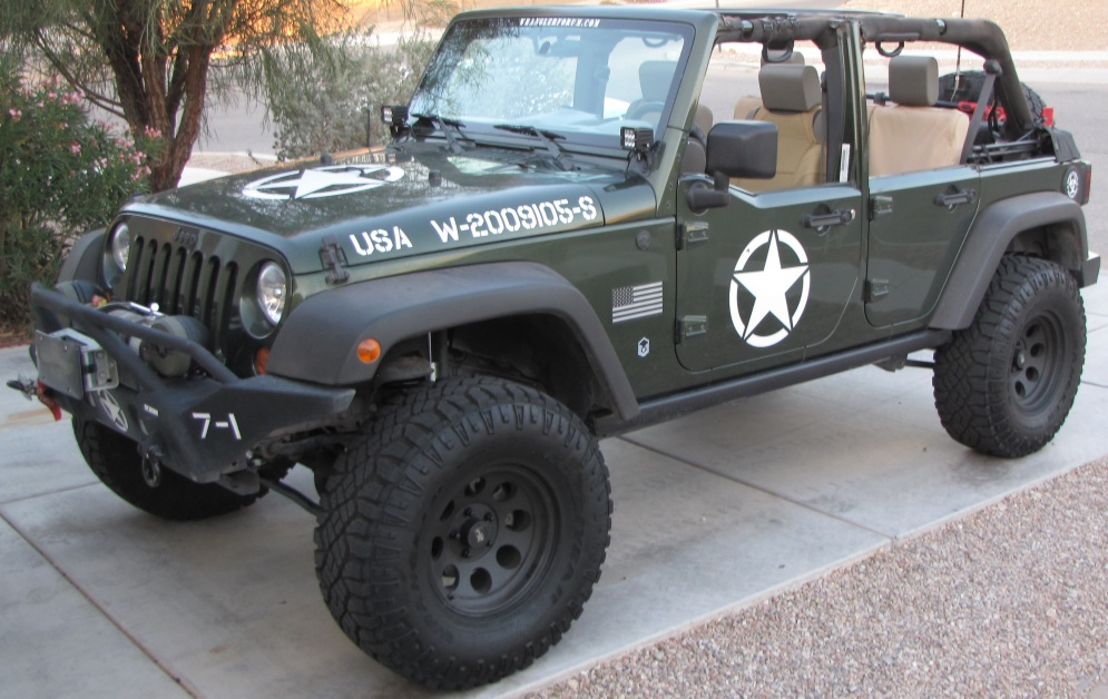 2018 Oscar Mike Jeep >> Oscar Mike decals - Jeep Wrangler Forum