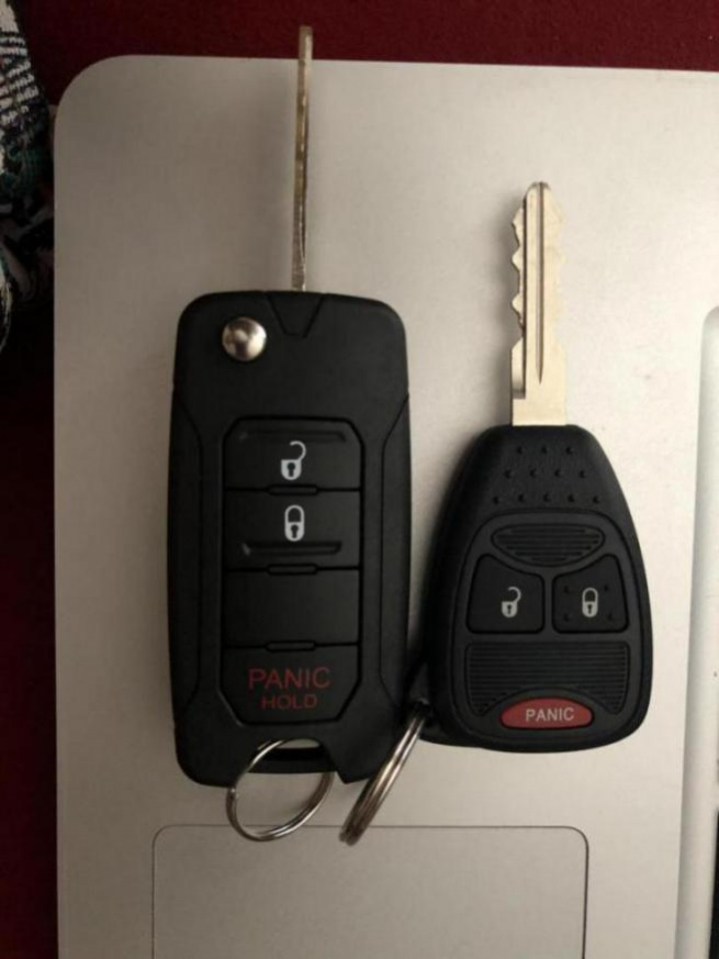 how to open jeep key fob 2016