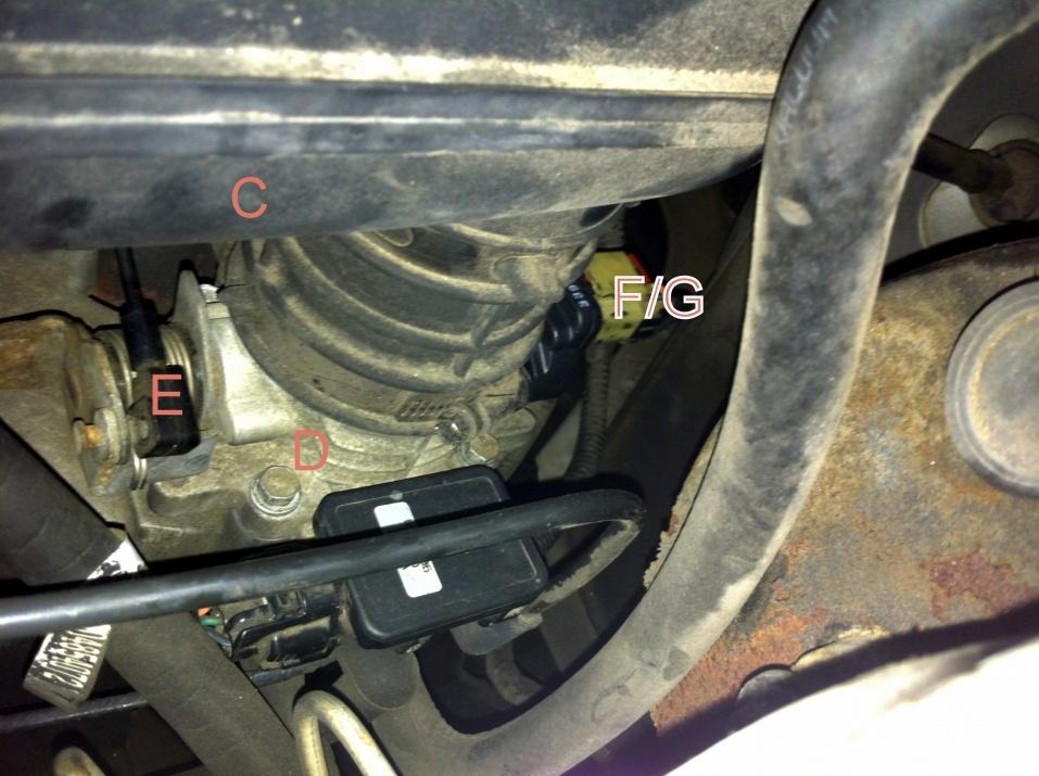 97 jeep cherokee throttle position sensor diagram write up  photos   throttle position sensor swap  2 5l jeep  throttle position sensor swap