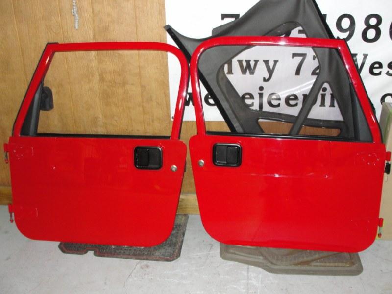 Illinois Tj Full Doors Red Jeep Wrangler Forum