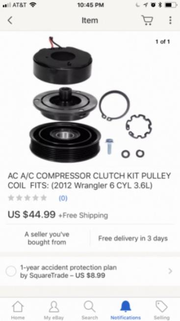 JKU 3 6 Penastar AC Compressor Pulley Repair for under $50!!! - Jeep