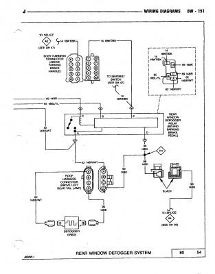 Rear defrost - Jeep Wrangler Forum on jeep jk wiring diagram, jeep wrangler wiring diagram, jeep tj serpentine belt diagram, isuzu hombre wiring diagram, jeep cherokee wiring diagram, cadillac xlr wiring diagram, jeep zj wiring diagram, alfa romeo spider wiring diagram, chrysler crossfire wiring diagram, mitsubishi starion wiring diagram, jeep tj hvac diagram, jeep tj sub wire diagram, bentley continental wiring diagram, jeep tj transmission diagram, daihatsu rocky wiring diagram, jeep tj fuse diagram, jeep tj vacuum diagram, sprinter rv wiring diagram, jeep j20 wiring diagram, mercury capri wiring diagram,