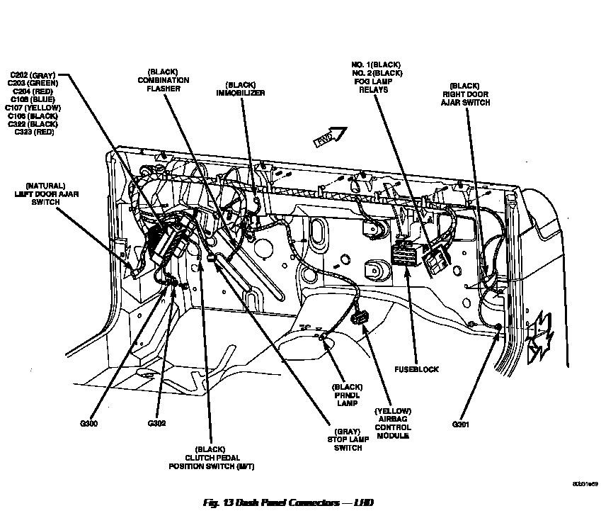 Airbag Wiring Diagram For 98 Wrangler