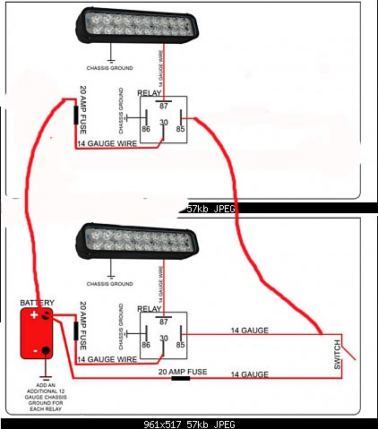 4 off road light wiring diagram wiring diagram wiring help off road lights taa world