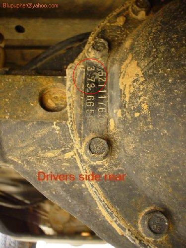 How To Find Out What Gears I Have 1j4fa39s86p703076 Jeep Wrangler Forum