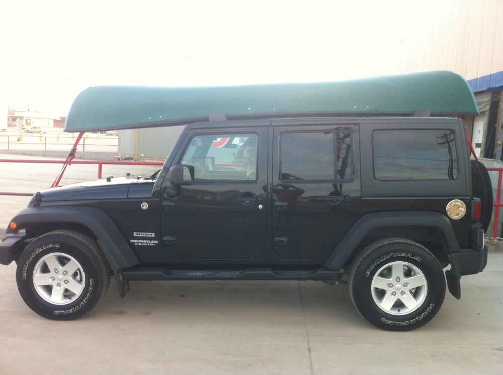 Anyone haul a canoe? - Jeep Wrangler Forum