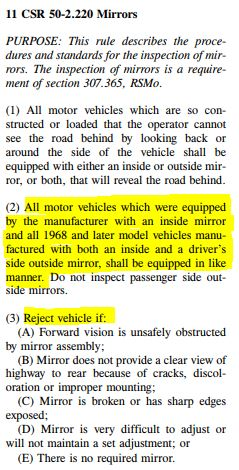 Best Mirrors For Use With Doors Off Page 2 Jeep