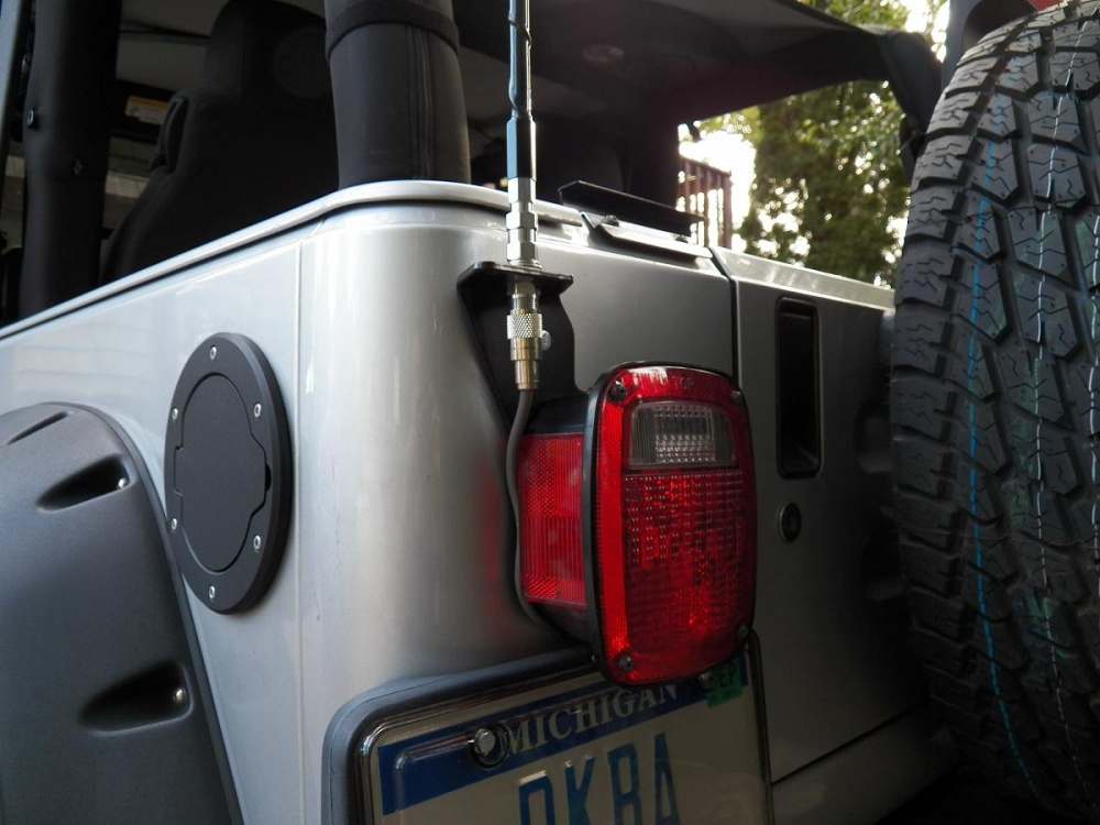 Attachment on Jeep Wrangler Cb Radio Mount