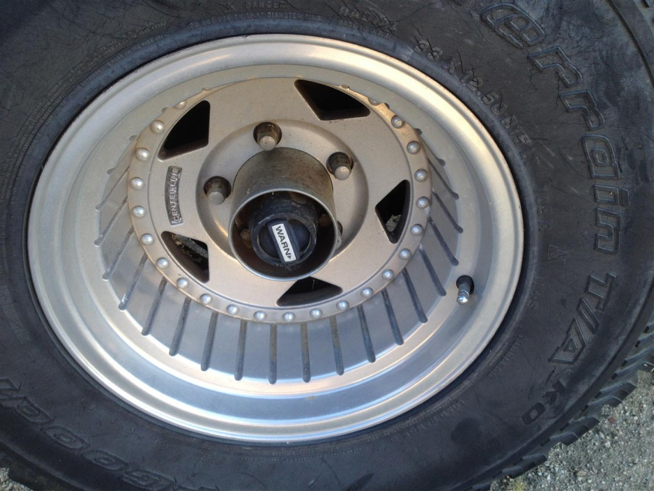 Click image for larger version  Name:Centerline Rim- with 33x12.5R15 Tire.jpg Views:15 Size:225.2 KB ID:4059634