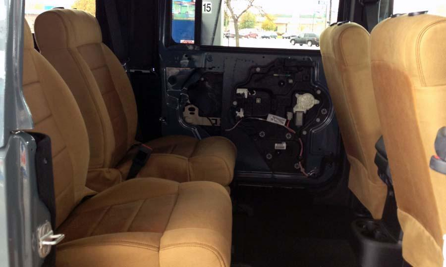 JKU front seats in the back - Jeep Wrangler Forum