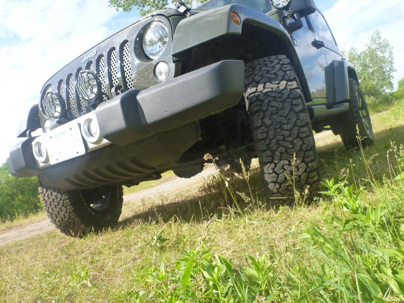 Re-calibration with 33's - Jeep Wrangler Forum