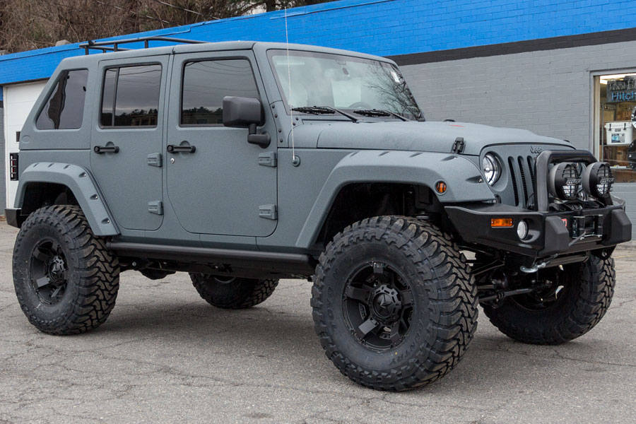 Click Image For Larger Version Name Custom Line X Jeep Wrangler