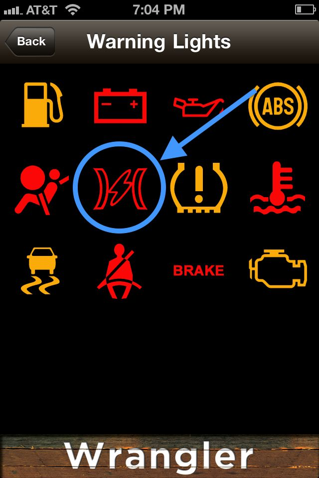 Electric Bolt Symbol In Dash And Check Engine Jeep Wrangler Forum