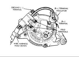 97 jeep tj alternator wiring image 3