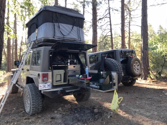 Slide Out Trail Kitchens Jeep Wrangler Forum