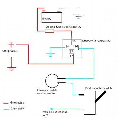 Arb Single Air Compressor Wiring Diagram from www.wranglerforum.com