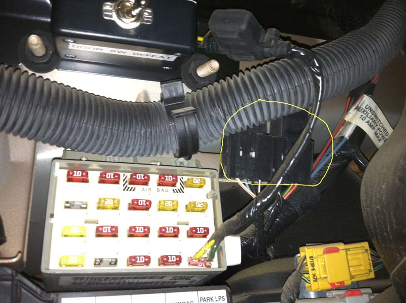 98 Tj Extra Wiring For Stock Switches