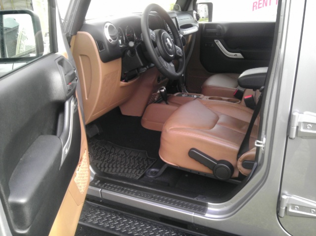 What Color Leather Seats Jeep Wrangler Forum