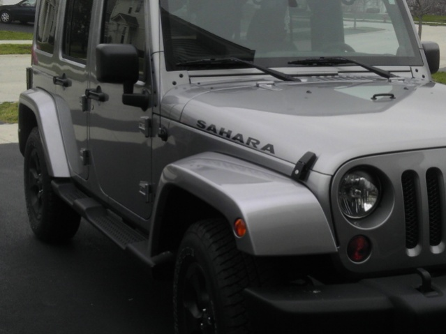 Attachment on Jeep Wrangler Transmission