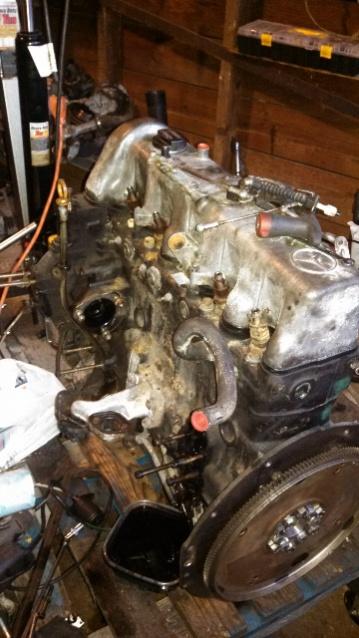 89 Wrangler YJ Mercedes Diesel Swap OM 617 - My First Swap - Jeep