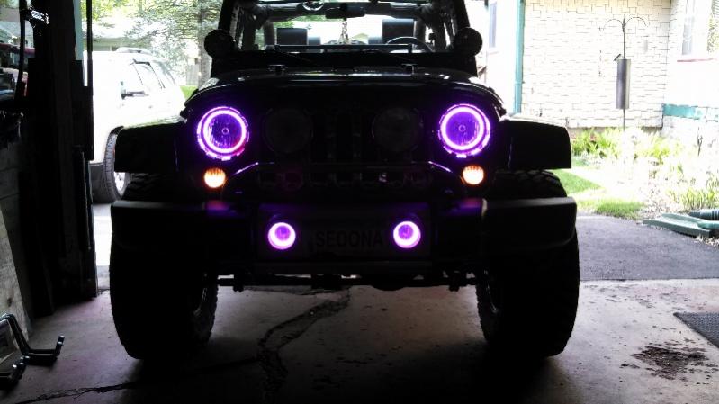 Halo Lights For Jeep Wrangler >> 2012 Jeep Wrangler Halo Lights