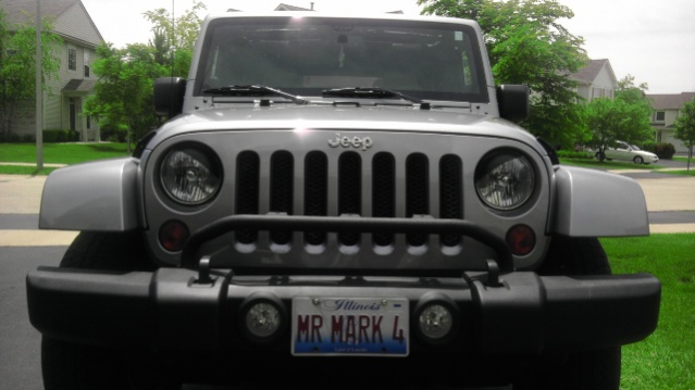 Stock bumper light bar jeep wrangler forum i dont have any lights on minebut i do hear that they can vibrate a bit at speed aloadofball Gallery