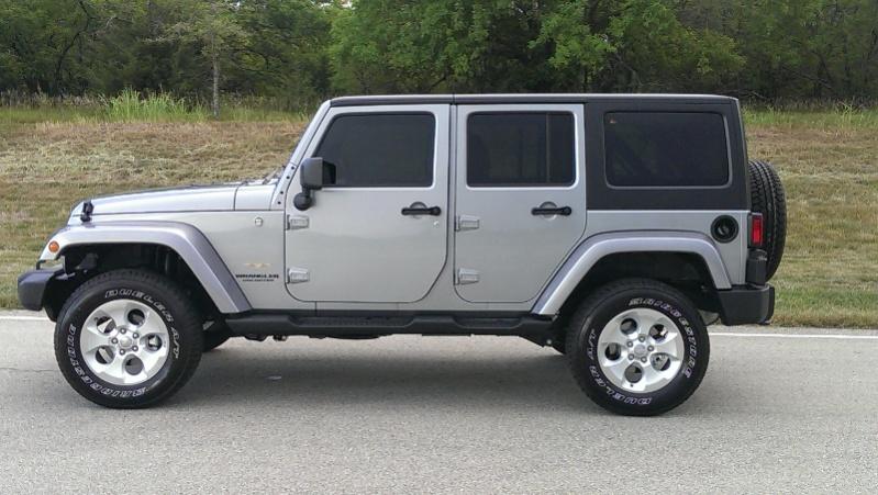 Sahara Unlimited With Teraflex Leveling Kit Jeep Wrangler Forum