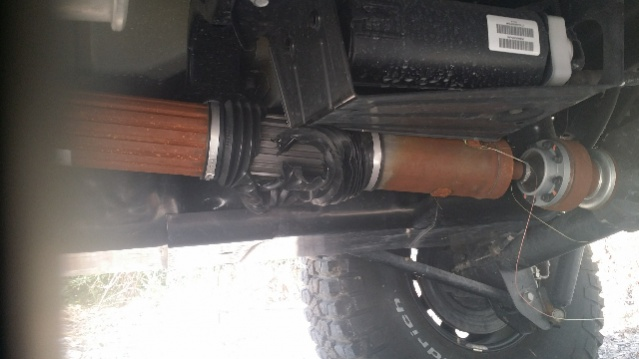 Torn drive shaft boot - new drive shaft required? - Jeep