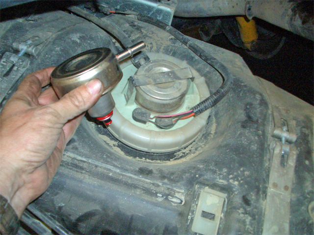 [FPWZ_2684]  Fuel filter on a 04 TJ | Jeep Wrangler Forum | 2006 Jeep Wrangler Fuel Filter Location |  | Jeep Wrangler Forum