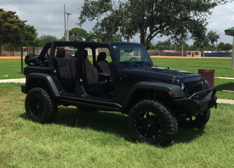 First time getting the new JKU naked - Jeep Wrangler Forum