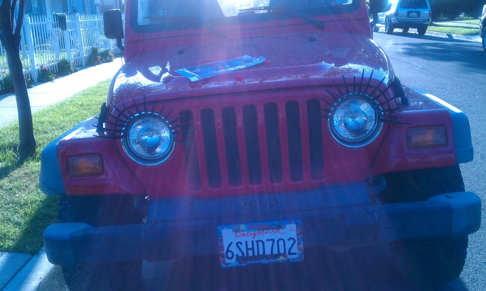 Jeep Eyelashes Jeep Wrangler Forum