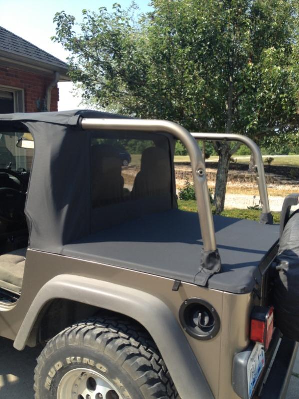 Jeep Wrangler Half Top >> Soft Half Top For 04 Tj Jeep Wrangler Forum