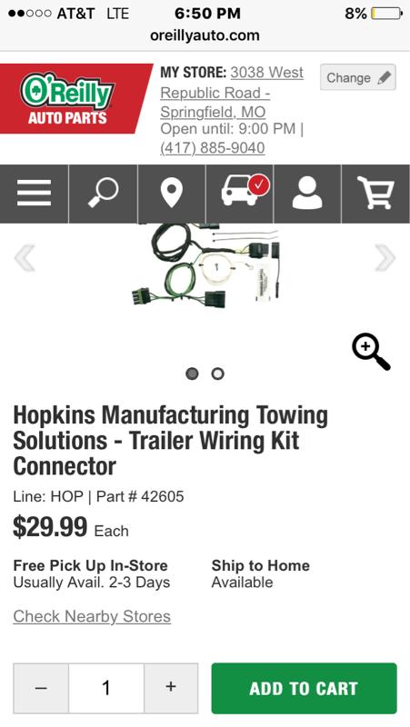 Yj trailer wiring????? - Jeep Wrangler Forum on