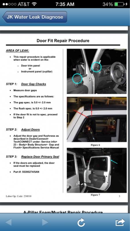jk water leak diagnose repair manual jeep wrangler forum