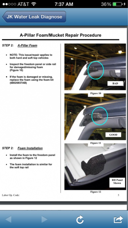 JK Water Leak Diagnose & Repair Manual - Jeep Wrangler Forum