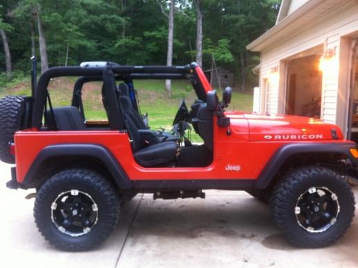 Impact Orange Jeeps! - Page 2 - Jeep Wrangler Forum