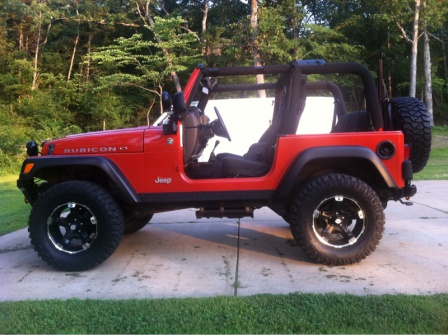 Red And Black Rims Jeep Wrangler Forum