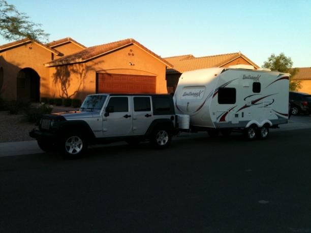 hybrid travel trailer wrangler wrangler unlimited up to the task