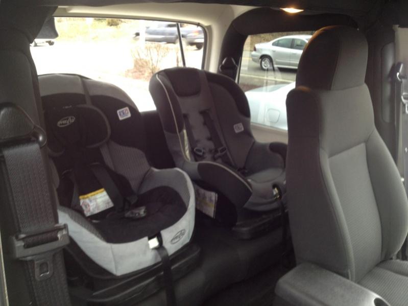 2 Car Seats In Tj Jeep Wrangler Forum